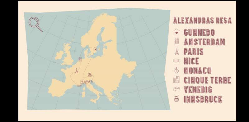 BACKPACKA I EUROPA