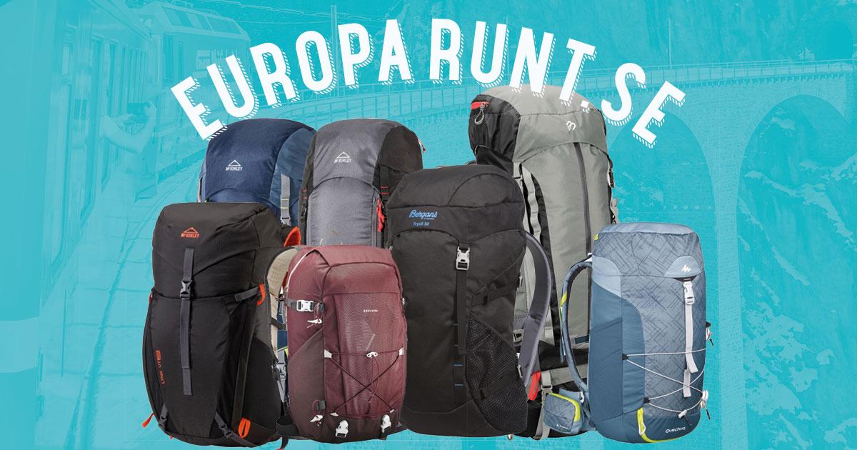 Omtalade Vilken ryggsäck ska jag välja? | Europa Runt OV-56