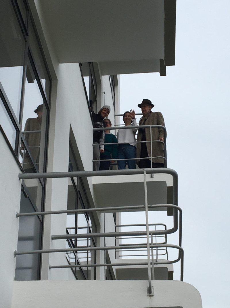 Vad vi såg och gjorde på Bauhaus i Dessau Europa Runt